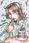 Happy Birthday, Cesare by dauwdrupje