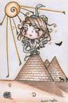Holy Chibi_Horus by dauwdrupje