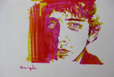 Lou Reed by dauwdrupje