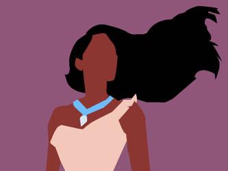 Pocahontas Vector by NonHoVoglia
