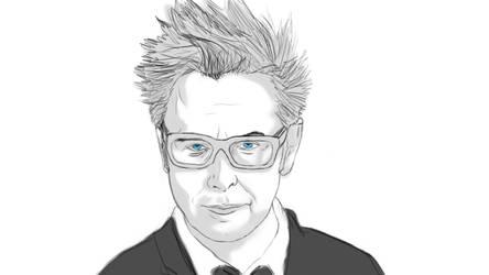 Sketch - James Gunn by NonHoVoglia