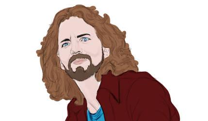 Eddie Vedder Color by NonHoVoglia
