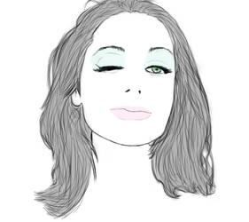 Sketch - PJ Harvey by NonHoVoglia