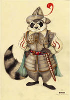 Redwall: Captain Thomas Van Dyck by FairytalesArtist