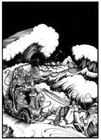 Ratu Kidu The Queen of the southsea by FairytalesArtist