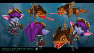 Dragon Trainer Tristana by sstrikerr
