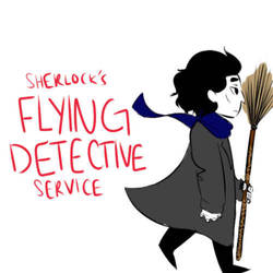 Sherlock's Flying Detective Service by AntisepticBandaid