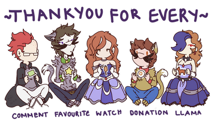 Thankyou for every.. by SilvaLucyStar