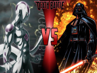 Frieza vs. Darth Vader by 6tails6