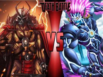 Shao Kahn vs. Boros by 6tails6