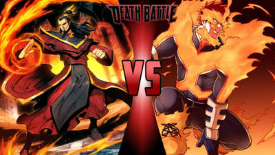 Ozai vs. Endeavor by 6tails6