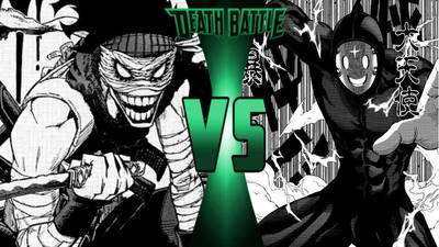 Hero Killer Stain vs. Great Angel by 6tails6