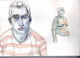watercolors 1 by stefanestoroski