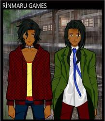 Anime Quetzal and Tezca by CowgirlXena