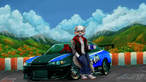 Fusche and his Silvia by R-Star97