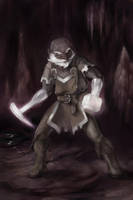 Most Honorable Burrow Warden - Belwar Dissengulp by wood-illustration