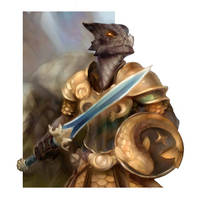 Kobold Knight by wood-illustration