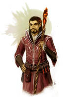 Character Commision: Admcewen by wood-illustration