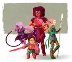 fantasy: Steven Universe by wood-illustration