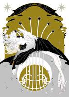 death of the swan. by ASingleGiraffe