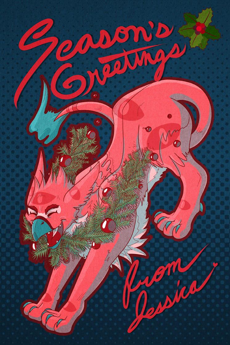 Season's Greetings! (2014) by miluette