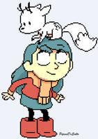 Hilda - Pixel Art by PipocaDeSalto