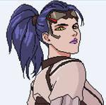 Widowmaker - Pixel Art by PipocaDeSalto