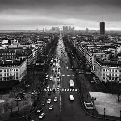 Paris cityscape by kpavlis