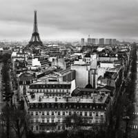 Paris cityscape II by kpavlis