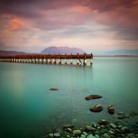 Wooden Pier by kpavlis