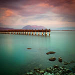 Wooden Pier by kpavlis