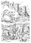 ESCAPE TO MADNESS pencils 01 by benitogallego