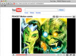 PEACE-motion comic at YouTube by benitogallego