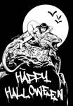HALLOWEEN 2014 INKS by benitogallego