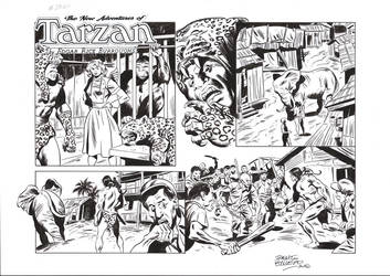 TARZAN#3760 ORIGINAL ART by benitogallego
