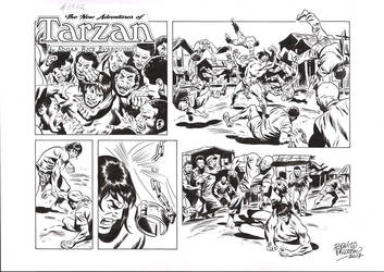 TARZAN#3762 ORIGINAL ART by benitogallego