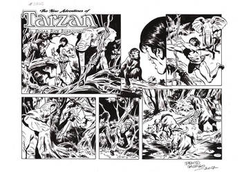 TARZAN#3768 ORIGINAL ART by benitogallego