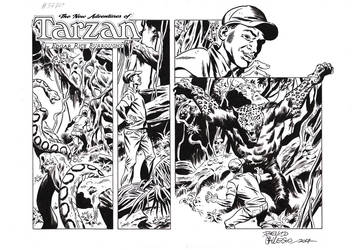 TARZAN#3770 ORIGINAL ART by benitogallego