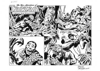 TARZAN#3771 ORIGINAL ART by benitogallego