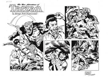 TARZAN#3773ORIGINAL ART by benitogallego
