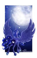 Princess Luna by JessicaVernell