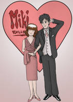 Miki and Hiro Color by jelmobu