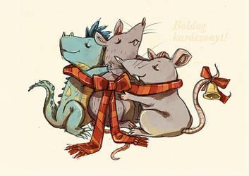 Merry merry by Ninjin-nezumi