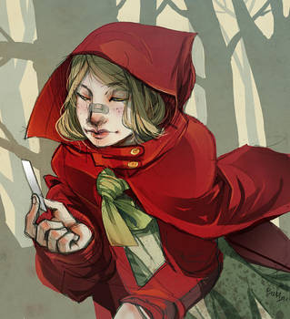 Red Hood by Ninjin-nezumi