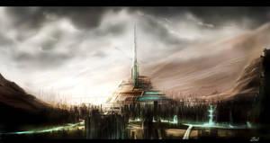 Futuristic City by Brehnman