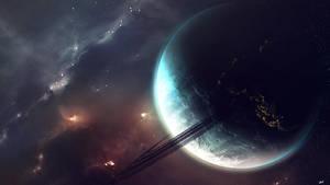 Planet Wallpaper by Brehnman