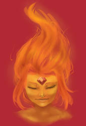 Flame Princess by moon-beams