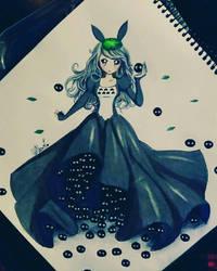 Totoro female version by LeChatLunaire