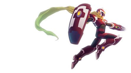 Protoman X_v.1 by Asashi-Kami