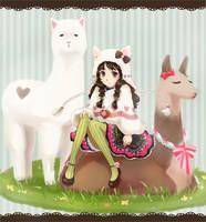 alpaca girl by galibo